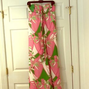 Lilly Pulitzer maxi size 0, 100# silk